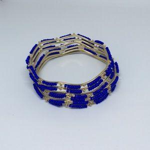 Jewelry - Blue beaded Bracelet Bundle